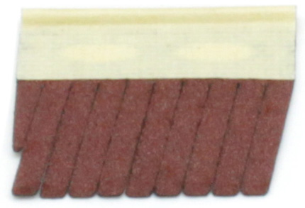 Абразивный вкладыш DE-TERO Flex QS3 50х45х3 2 P180 400J (8шт)