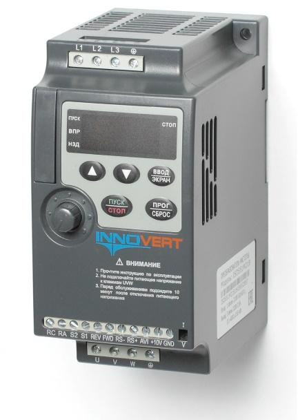 Частотный преобразователь mini 220/380В IP20 1.5 кВт, ISD152М21B
