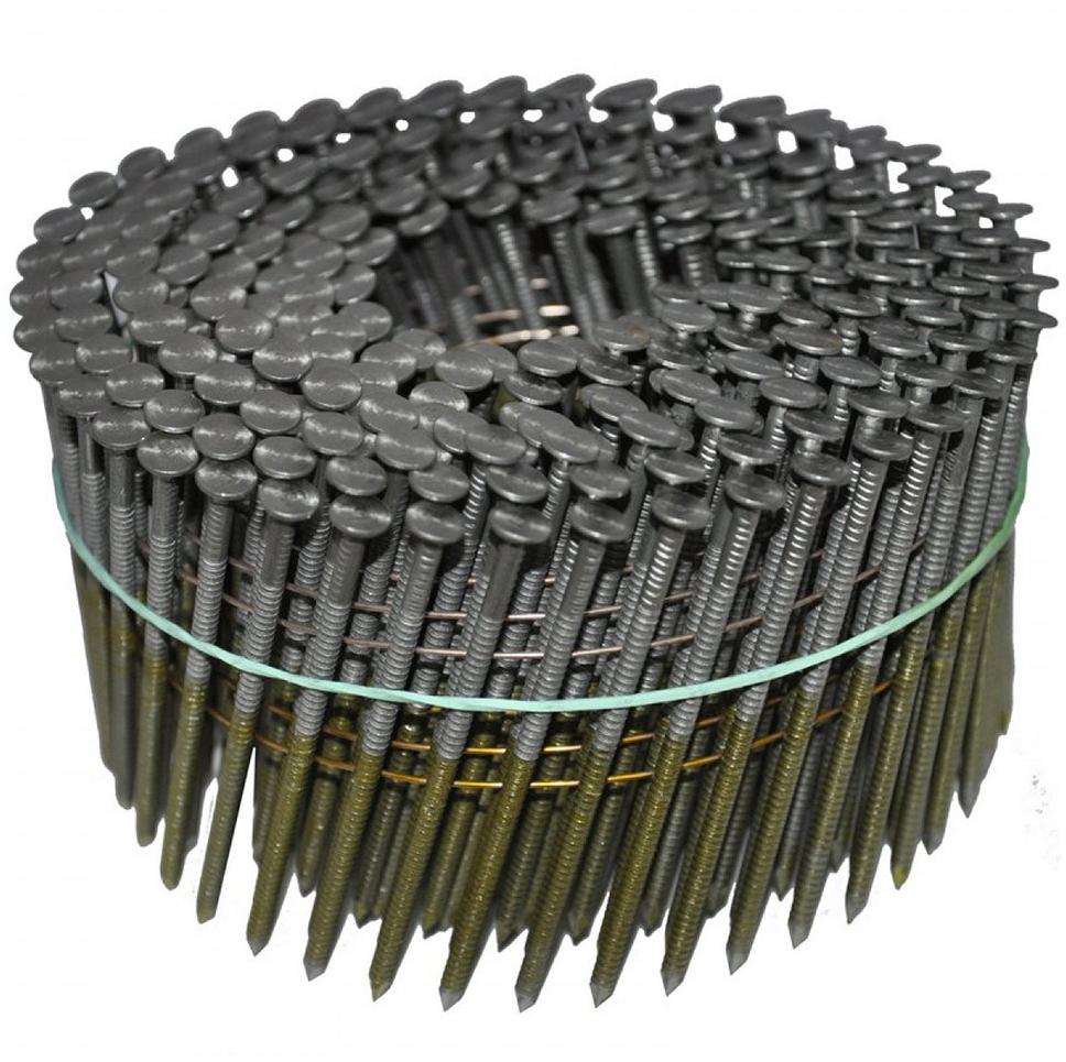 CNW 3.1/80 BKRi Гвоздь барабанный с кольцевой накаткой 80 мм