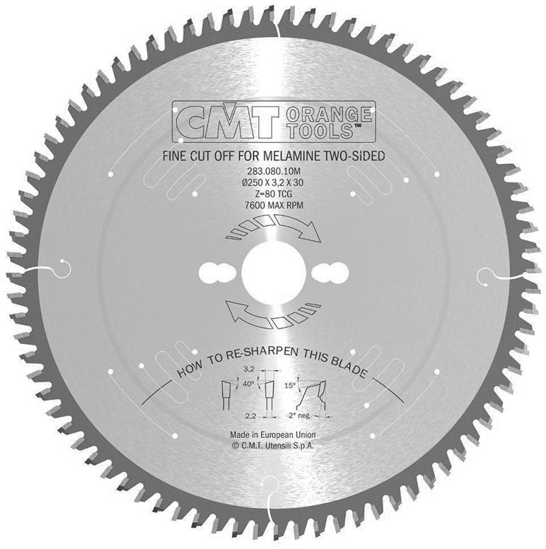 Диск пильный 350x30x3,5/2,5 5º 40° Hi ATB Z=108