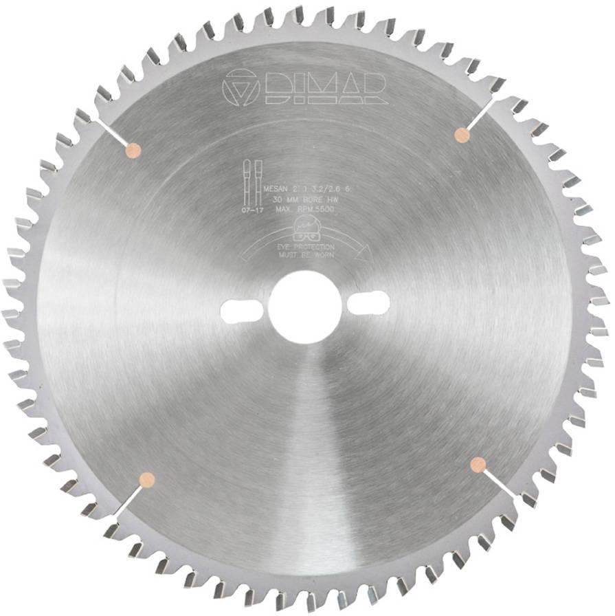 Диск пильный D216x30x2,8 Z64 для алюминиевых профилей