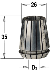 ER25 D=12,7 цанга  высокоточная