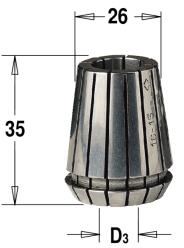 ER25 D=3 цанга высокоточная