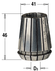 ER40 D=10 цанга высокоточная