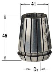 ER40 D=7 цанга высокоточная