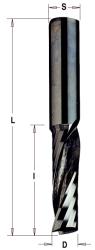 Фреза спиральная монолитная 6,35x19,05x51 Z=1 S=6,35 RH