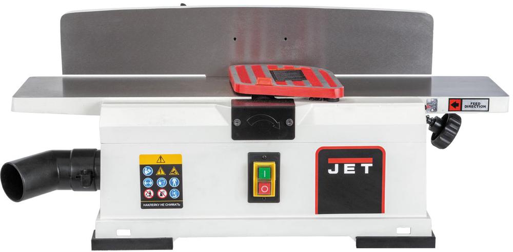 JSJ-6 HH Настольный фуговальный станок 150 мм с валом helical