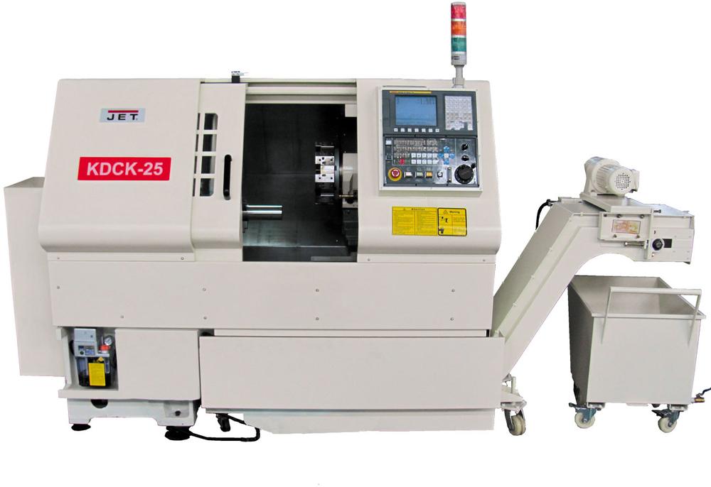 KDCK-25AF CNC, Токарный с ЧПУ Fanuc 0i-Mate TD (5000 об/мин)