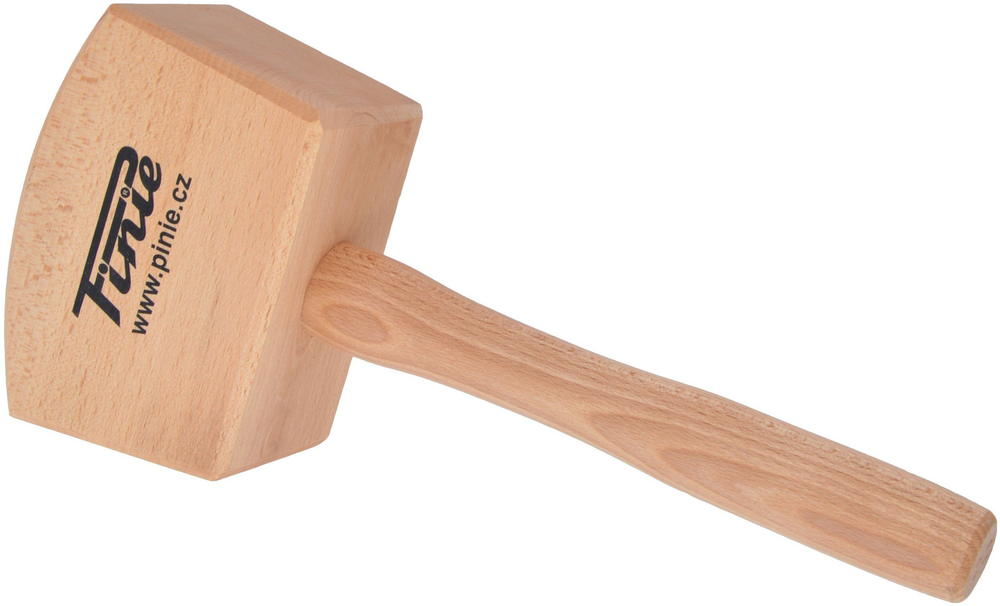 Киянка деревянная квадратная 140х65 мм /PINIE/