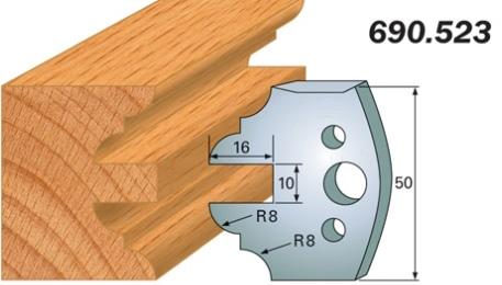 Комплект 2 ножей SP 50x4мм
