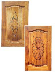 Комплект 2 шаблонов для фрезерования (двери F)