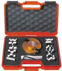 Комплект фрезы насадной F=25,4 D=100 (алюм.) 13 ножей SP (кейс)
