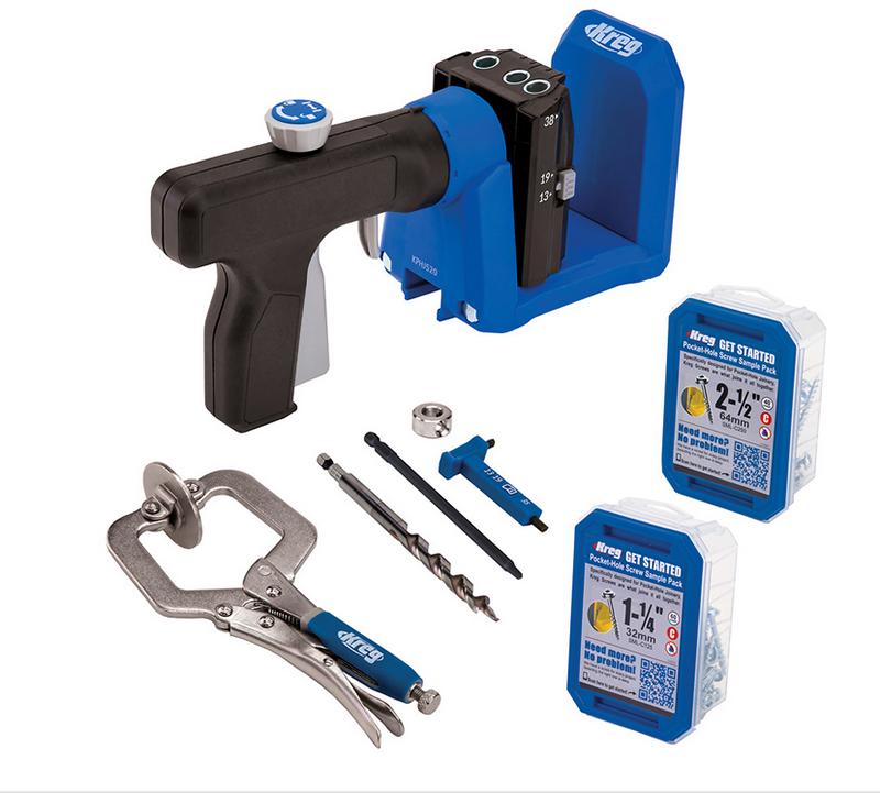 Кондуктор для сверления Pocket-Hole Jig 520 в комплекте с клещами