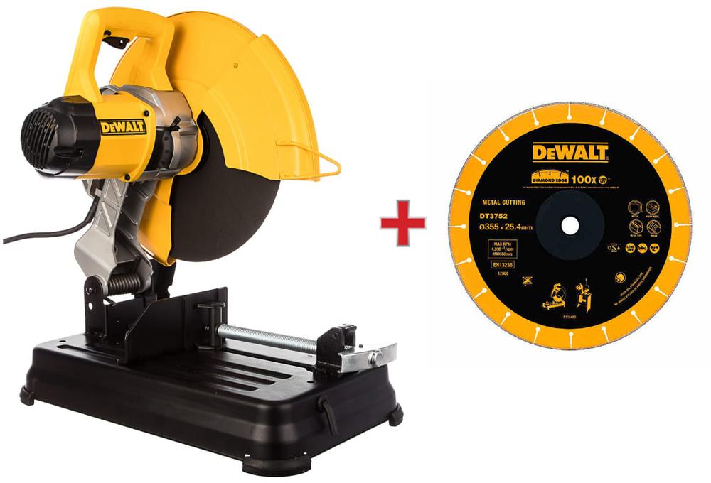 Монтажная пила DeWALT с диком DT3752
