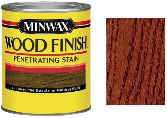 Морилка Minwax WF 222 цвет Красная Седона 946 мл