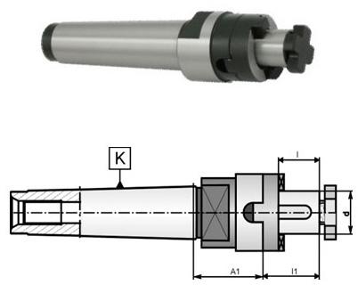 Оправка для торцовых фрез MK-3, D=22
