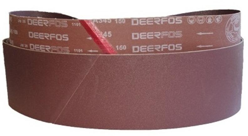 Шлифовальная лента 150 х 2030 мм 180G ( для 80S )