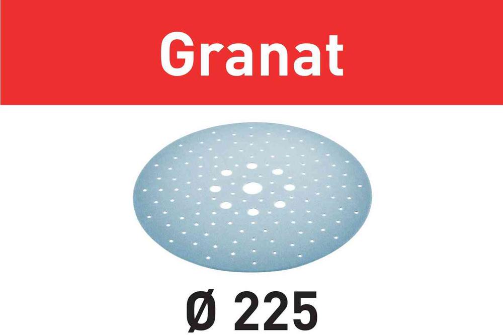 Шлифовальные круги Granat STF D225/128 P180 GR/5