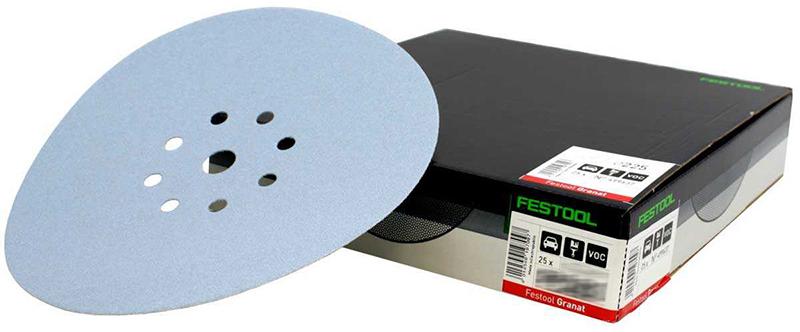 Шлифовальные круги STF D225/8 P240 GR/25 Granat