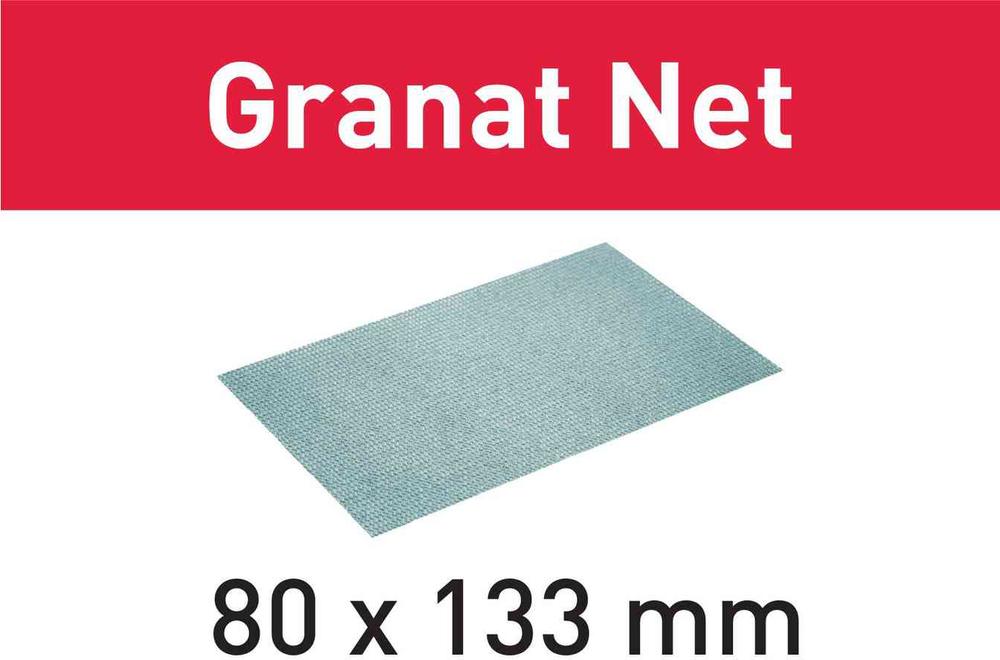 Шлифовальный материал на сетчатой основе Granat Net STF 80x133 P120 GR NET/50