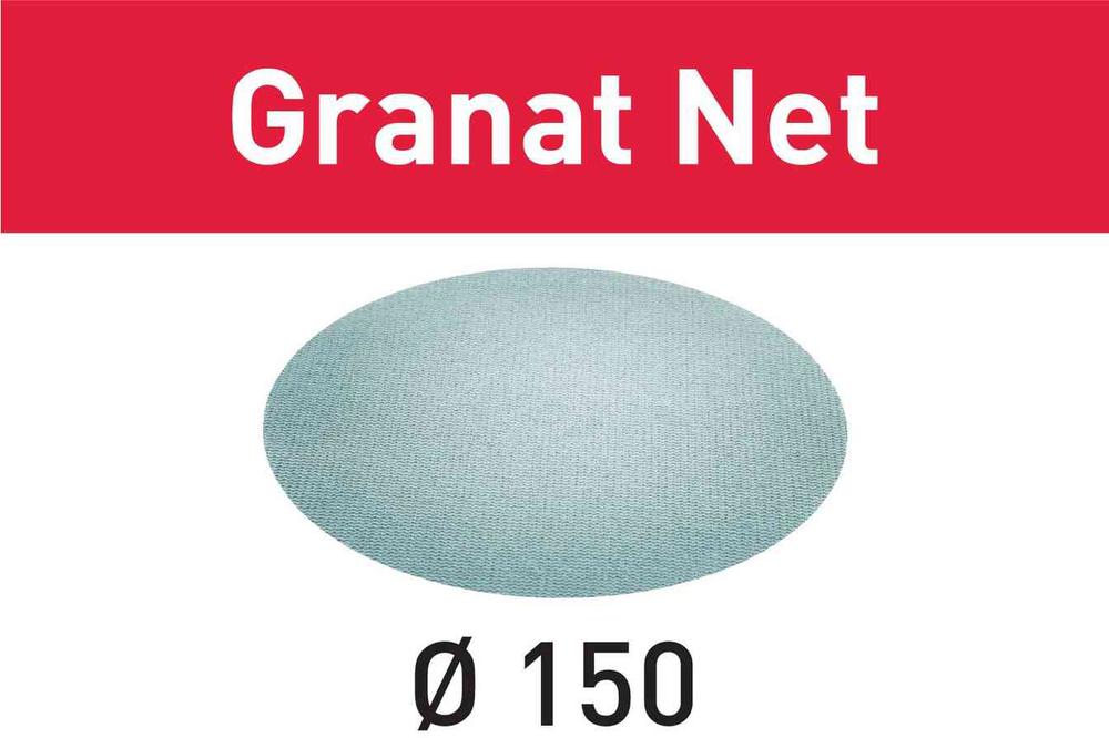 Шлифовальный материал на сетчатой основе Granat Net STF D150 P100 GR NET/50