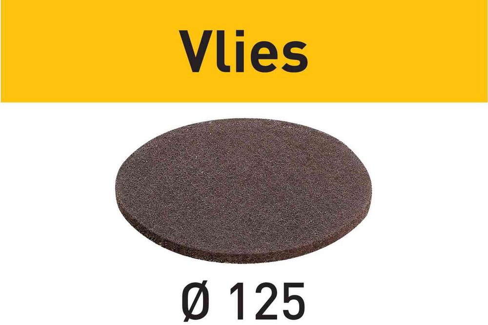 Шлифовальный материал Vlies STF D125 SF 800 VL/10