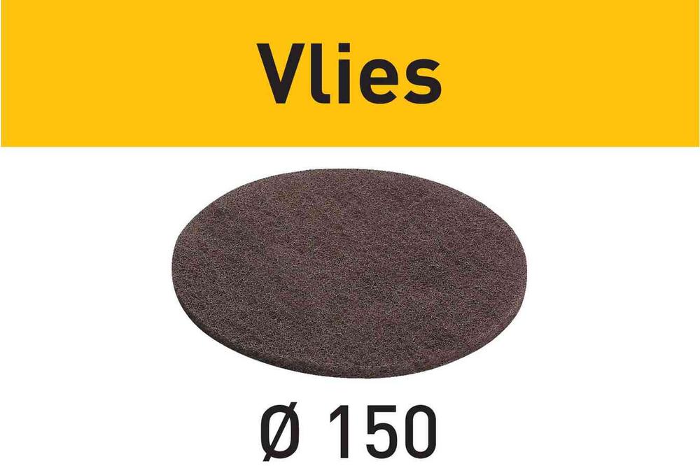 Шлифовальный материал Vlies STF D150 MD 100 VL/10