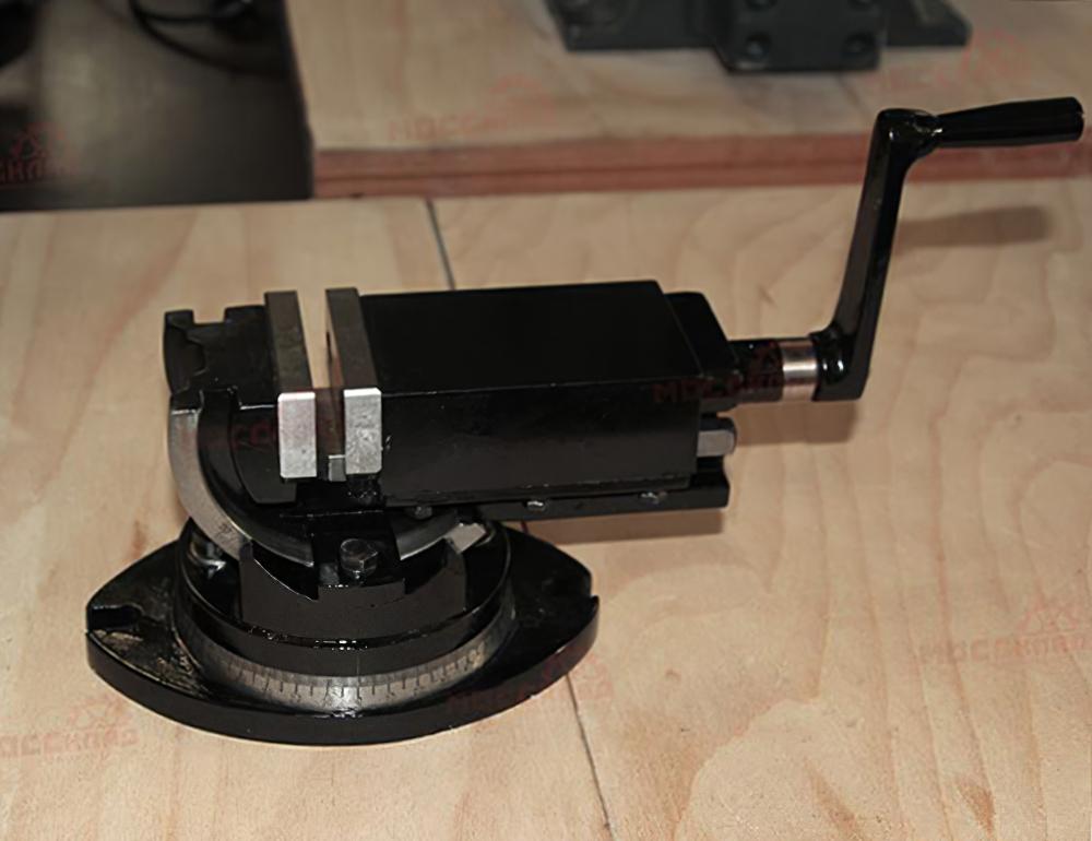 Тиски станочные, двухосевые, прецизионные 50 мм