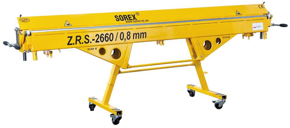 ZRS-2660 Ручной листогибочный станок