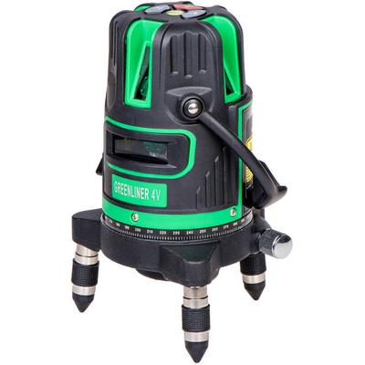 4V Лазерный уровень-нивелир Instrumax Greenliner