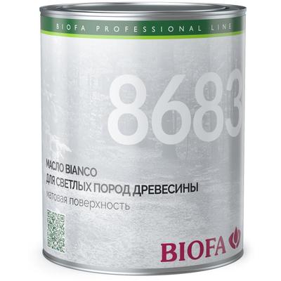 8683 43 Bianco масло для светлых пород древесины 0,375 л