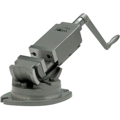 AMV/SP-100  Тиски станочные, двухосевые, прецизионные 100мм