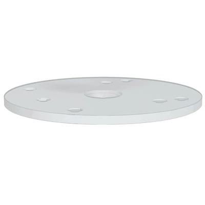 База 180x6мм B=32 к фрезеру CMT7E для копировальных колец (899) (пластик)