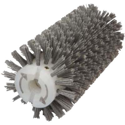 Брашировальная щетка валик Д130х250мм, ворс полимер абразив P120