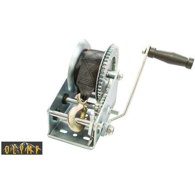 Барабанная лебедка OLW с лентой 1.1 т
