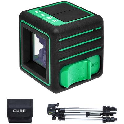 CUBE 3D GREEN Лазерный нивелир ADA PROFESSIONAL EDITION