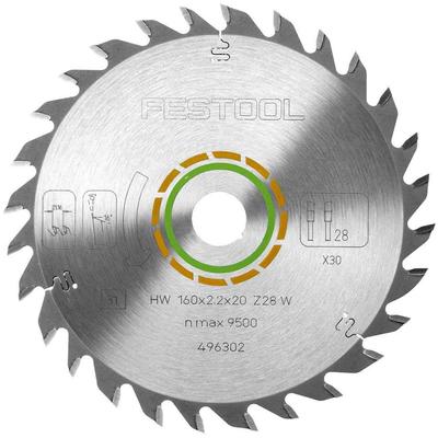 Диск пильный универсальный 160x2,2x20 W28