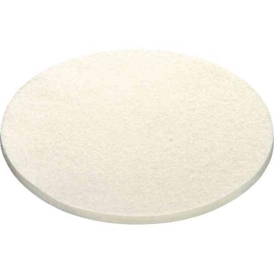 Фетр жесткий, белый для предварительного полирования PF-STF-D150x20-H/1, 1 шт.