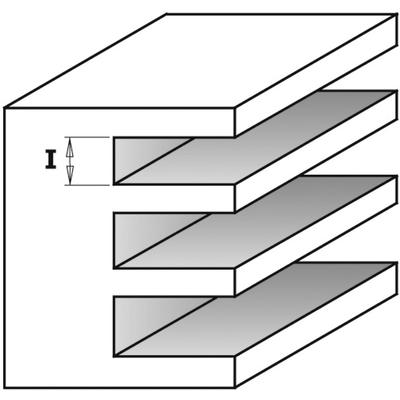 Фреза CMT-PRO пазовая (диск) Z3 F=8 D=47,6x3,5