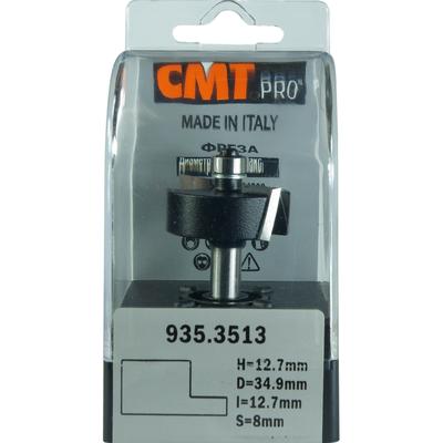 Фреза четвертная CMT-PRO (нижний подшипник) S8 D34,9 I12,7 L59