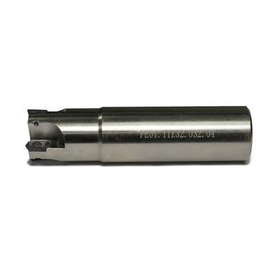 Фреза торцевая концевая с механическим креплением пластин, 32 мм