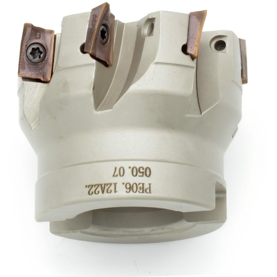 Фреза торцевая с механическим креплением пластин, 50 мм
