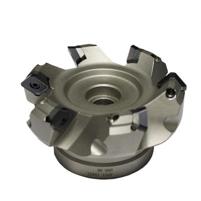 Фреза торцевая с механическим креплением пластин, 80 мм