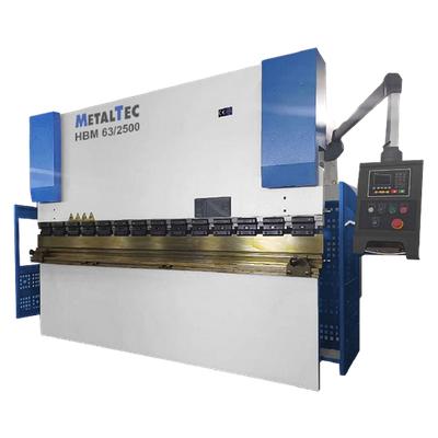Гидравлический листогибочный пресс MetalTec HBM 63/2500