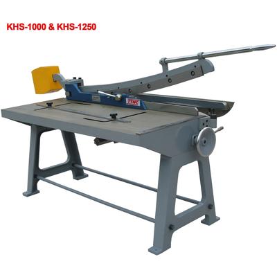 Гильотина ручная сабельного типа KHS-1000, (1,0/1000мм.)