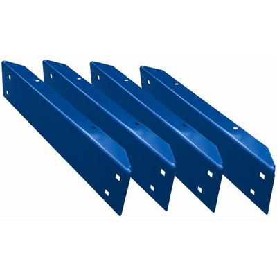 Горизонтальная балка верстачного стенда стальная 1,63 м (комплект из 4-х шт.)