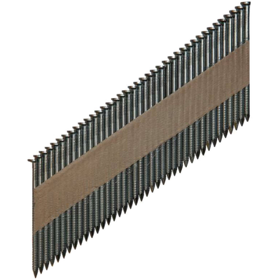 Гвоздь реечный на бумаге D34 90 мм rcnk 2000 шт. ершёный