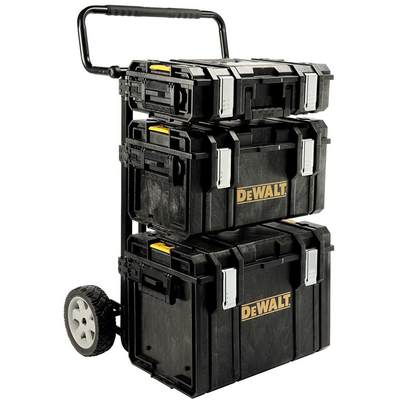 "Ящик для инструмента ""DEWALT TOUGH SYSTEM 4 IN 1"" пластмассовый"