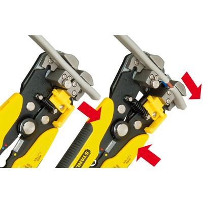 Инструмент для зачистки проводов (стриппер) автоматический