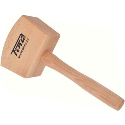 Киянка деревянная квадратная 105х65 мм /PINIE/